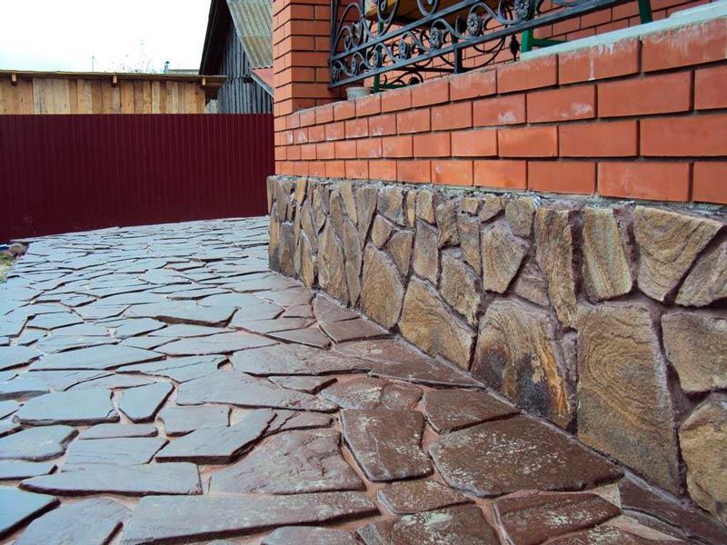 цементный раствор для укладки природного камня